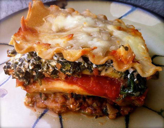 Delaine's Skinny Delights: Vegetarian Lasagna