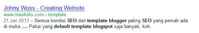 Contoh Komentar Blogspot SEO | Silahkan Dicoba.Info