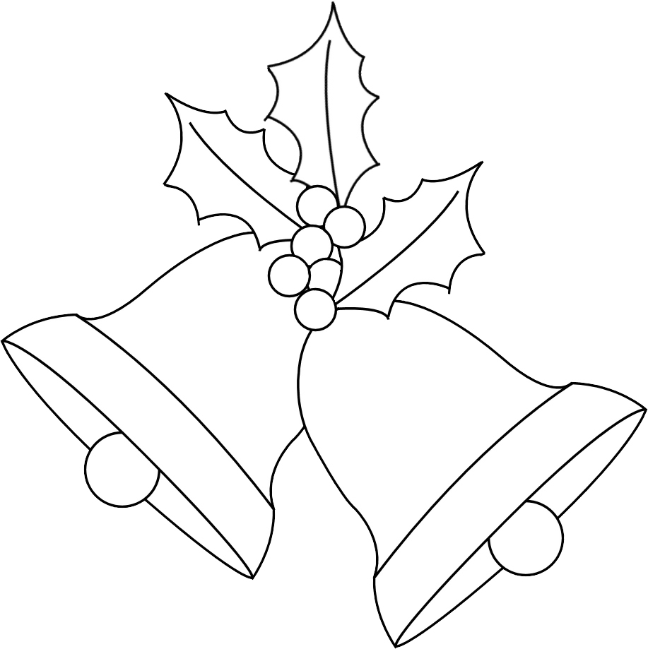 Any Old Craft: Christmas bells and holly digi stamp freebie