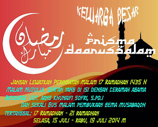 Marhaban yaa ramadhan & Gerhana