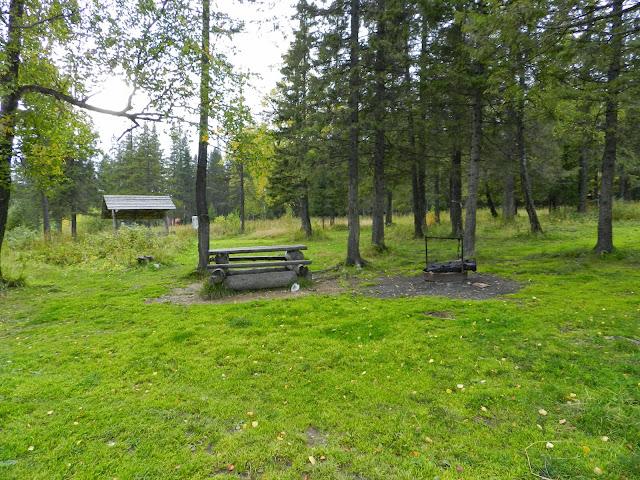Место для отдыха на озере Зюраткуль