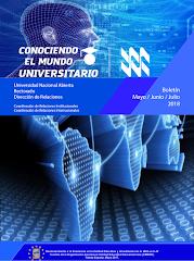 Publicación Digital Conociendo el Mundo Universitario Mayo - Julio 2018