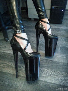 Elisanth: New 10 Beyond high heels by Pleaser USA