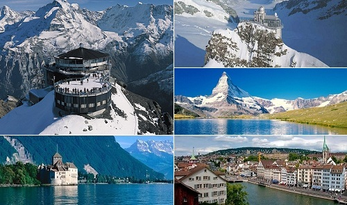 Travel to switzerland best holiday destination for Top christmas travel destinations