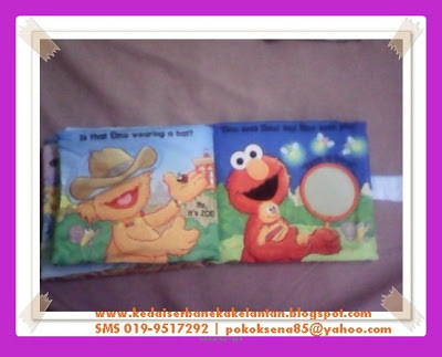 Softbook Where Elmo Page 7 & 8