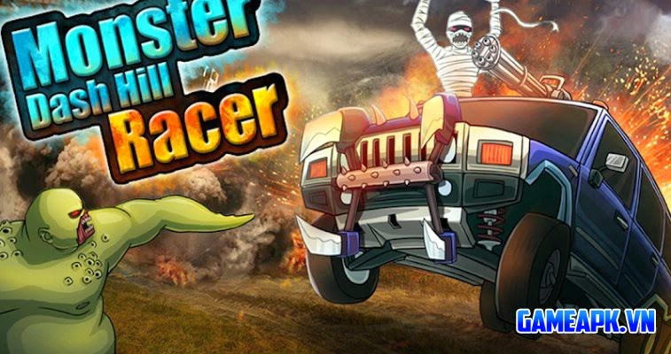 Monster Dash Hill Racer V Hack Full Ti N Cho Android