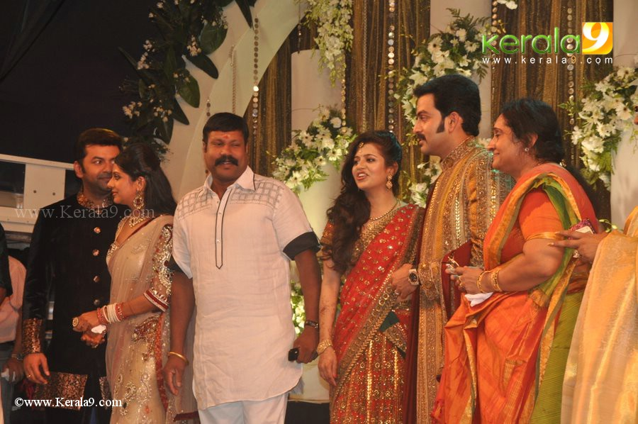 Prithviraj Wedding Reception WallpapersPrithviraj Wedding Reception Photos