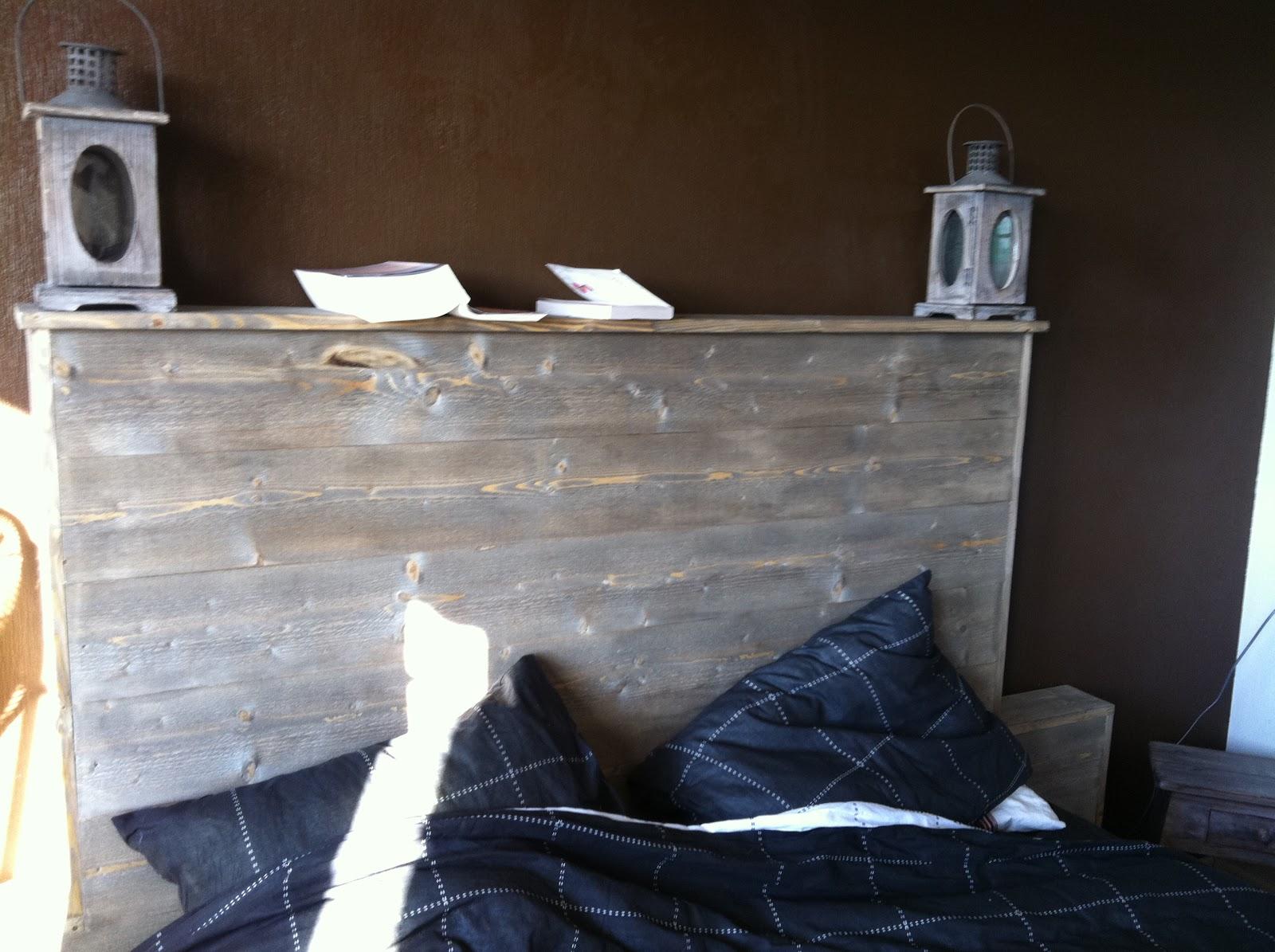 lage sengegavl av planker