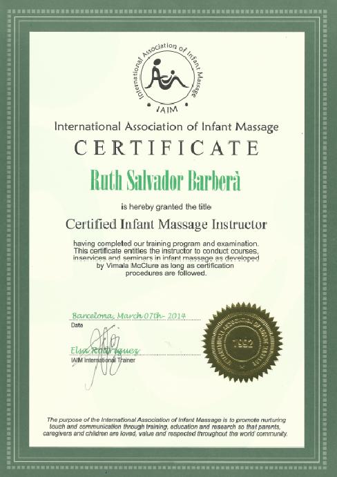 Certificado de FMI