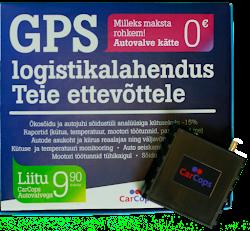 CarCops Autovalve GPS seade