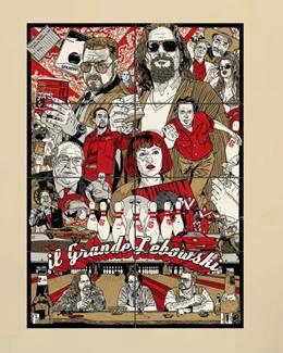 Poster artístico gigante The Bg Lebowski
