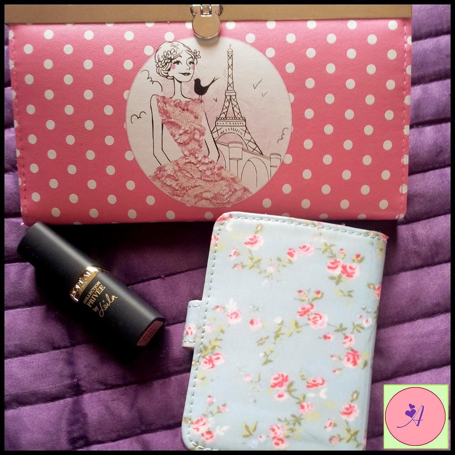 porte carte maison du monde portefeuille la chaise longue rouge à lèvres l'oréal parisienne liberty pois rose