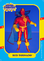 Super Powers Collection Red Tornado Action Figure by Kenner Superman Super Powers Collection Figure Clark Kent Kenner Mattycollector DC Universe Classics Unlimited Man of Steel Toys Movie Masters polymerphelia GeekSummit
