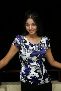 Sanam Shetty Pictures in Tight Jeans at Galipatam Movie Success Meet