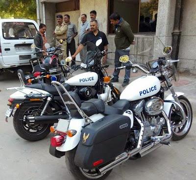 Harley Davidson Bikes For Police