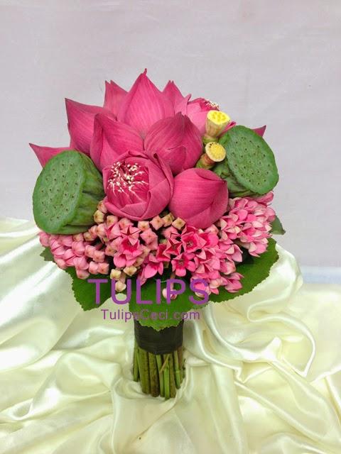 蓮花結婚花球