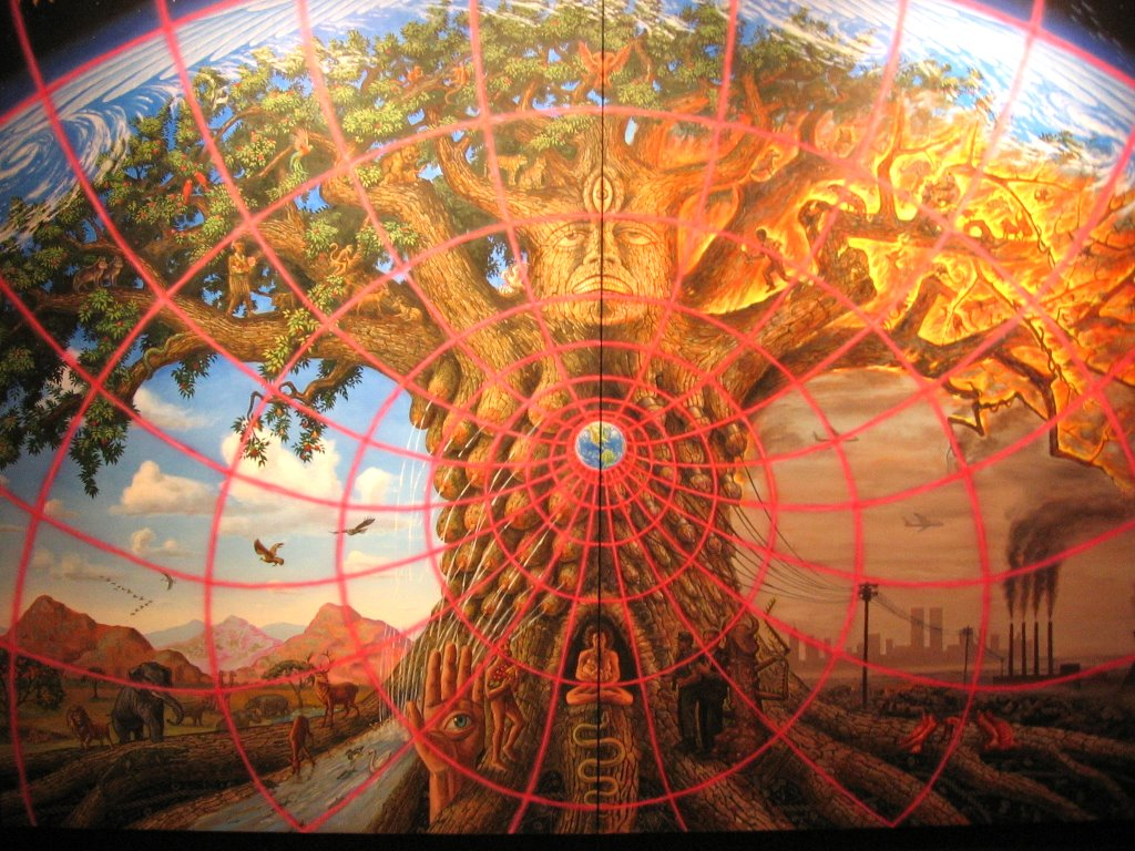 Alex Grey s fabulous  quot Tree of Life quot Gaia Alex Grey