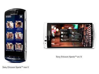 Xperia Arc S and Neo V Unlocked Version