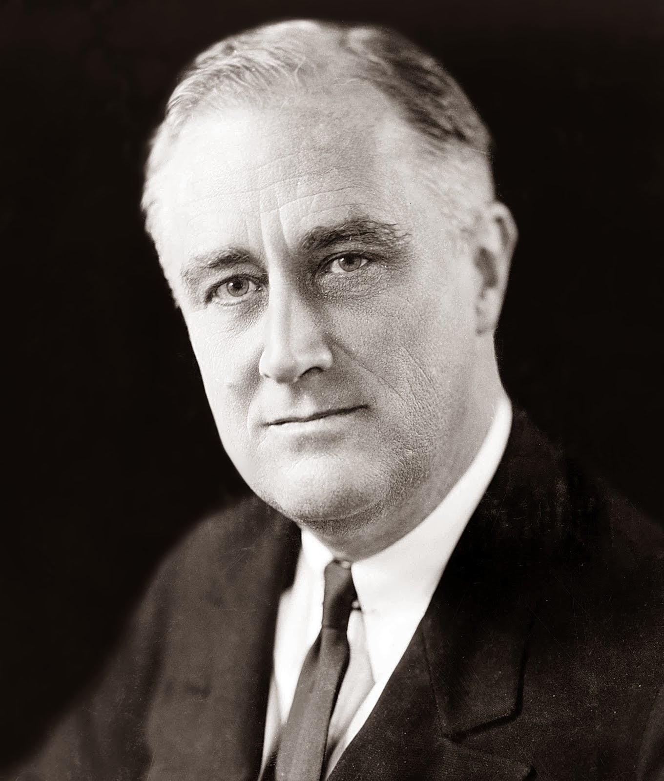 Franklin D Roosevelt 1933