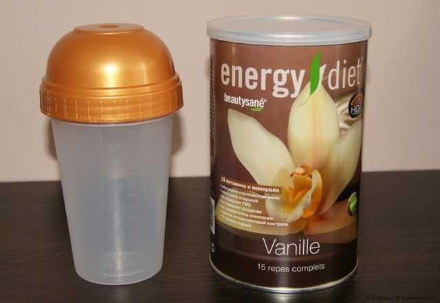 энерджи диет сколько надо пить