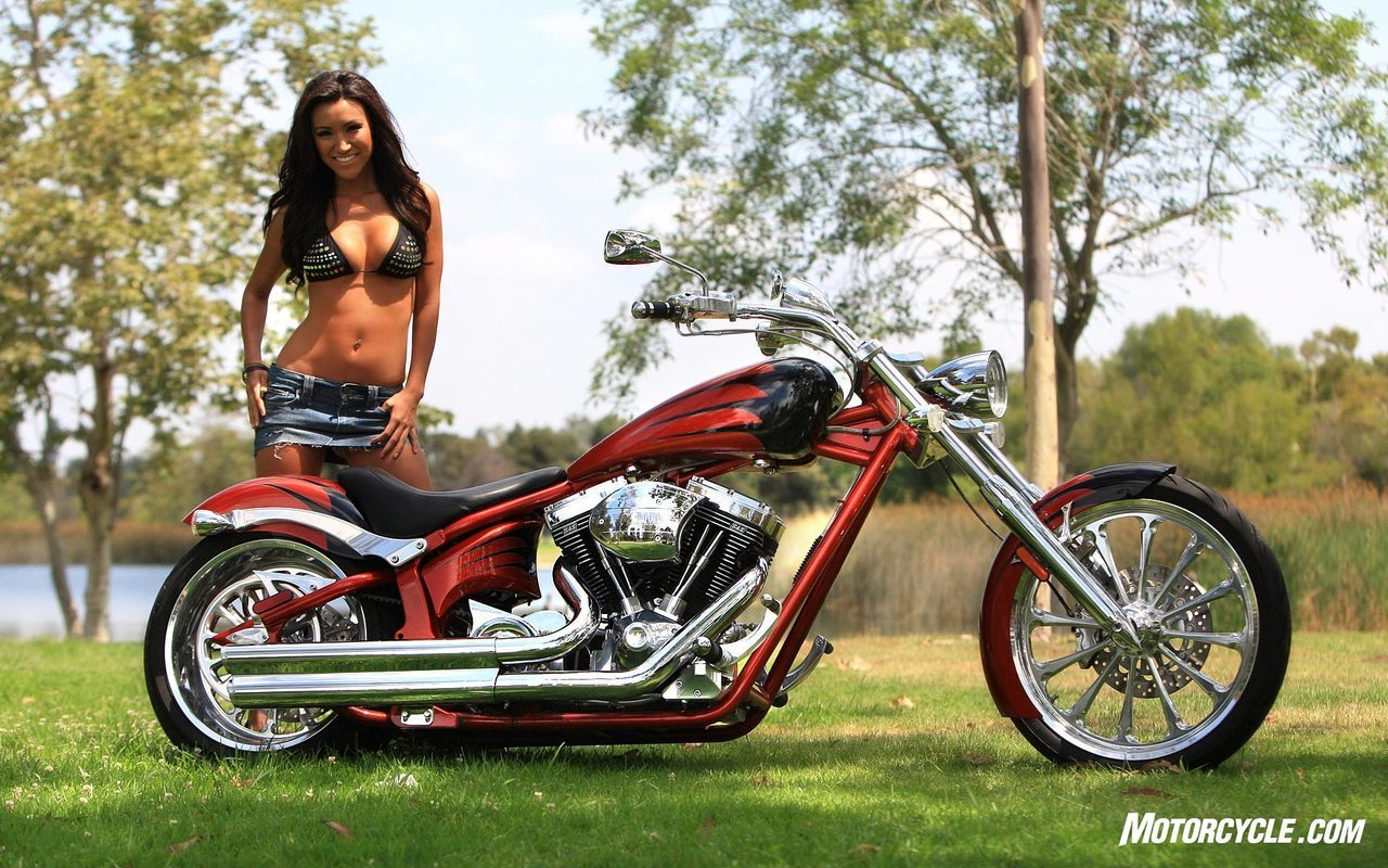 custom chopper motorcycles and