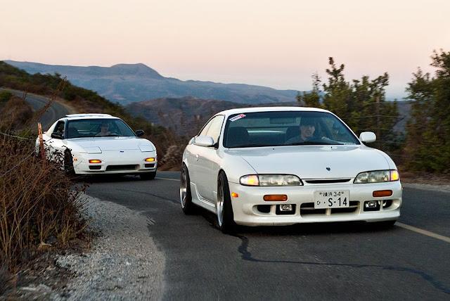Nissan 200SX S13 & Nissan 200SX S14, japońskie sportowe coupe, driftowóz, RWD