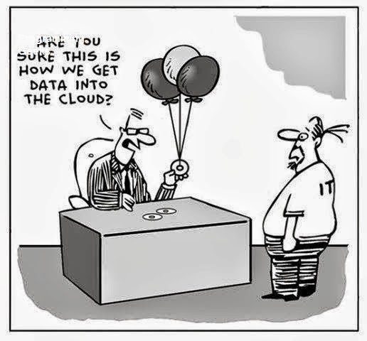 how you get data from cloud