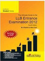 Prep Books for Law (LL B) Entrance Exam