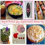 Party On The Porch: Spicy, Simple & Sweet for Valentine's Day