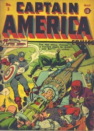 Captain America Comics #3 cover