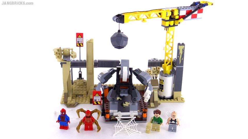 LEGO Marvel Super Heroes Rhino & Sandman Super Villain Team-Up ...