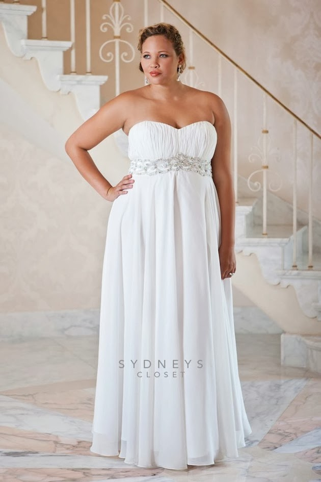 Fashiongirlstrendwomencollection 2015 Summer Plus Size Wedding