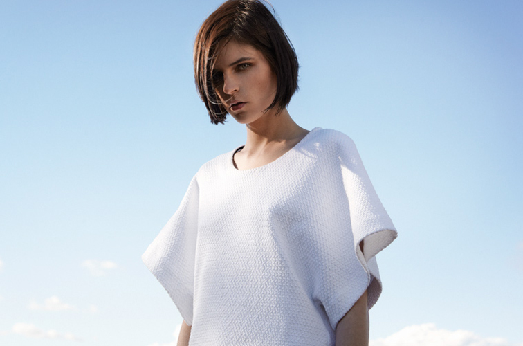 Club Monaco Kel Markey Model Monica Top