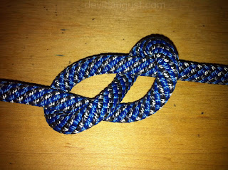 picture of a figure eight knot