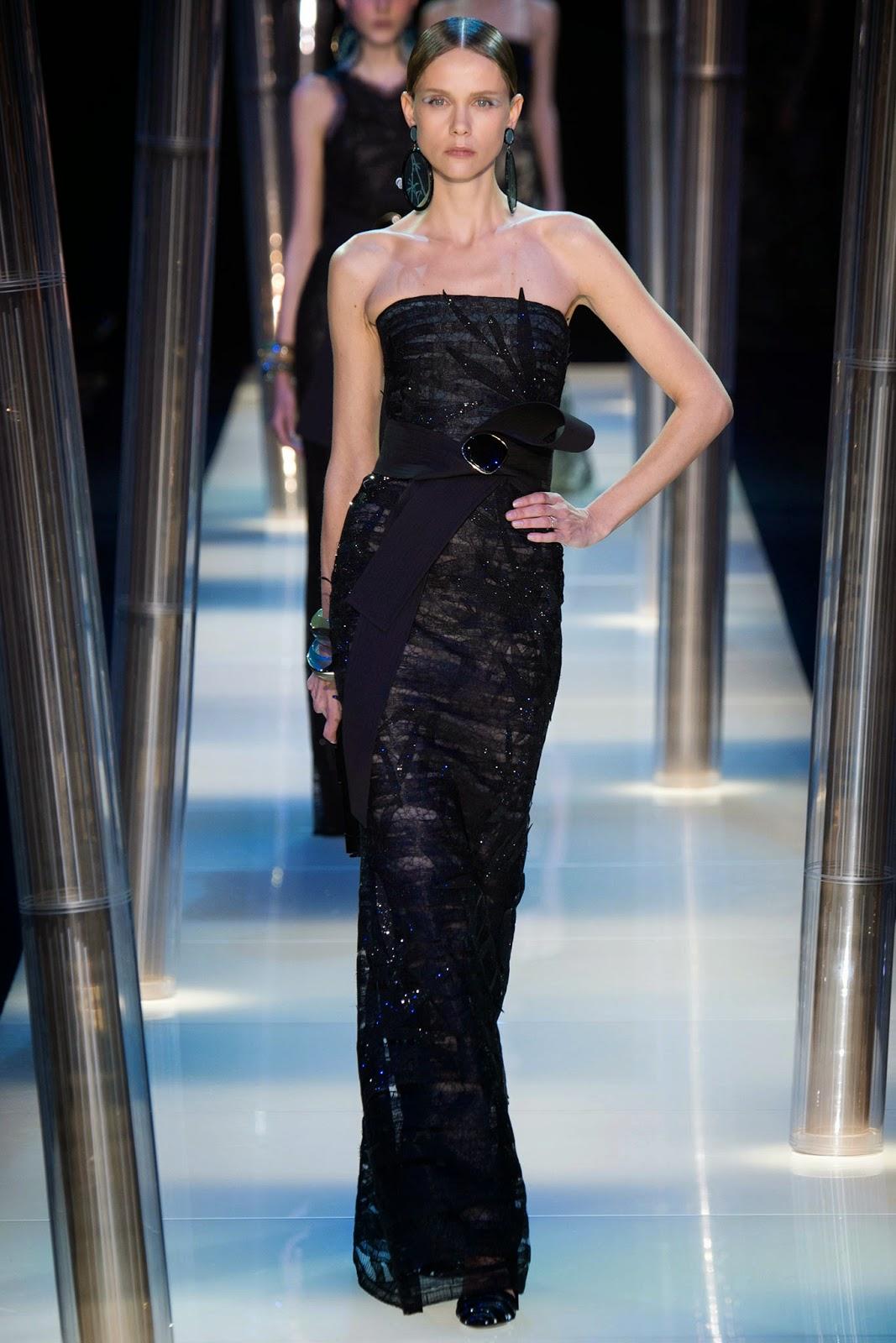 Stylefluid Trendz: Armani Privé Spring Summer 2015 : Paris Haute ...