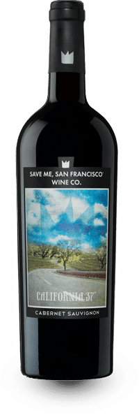 Save Me San Francisco Wine Company Cab California 37 wine bottle