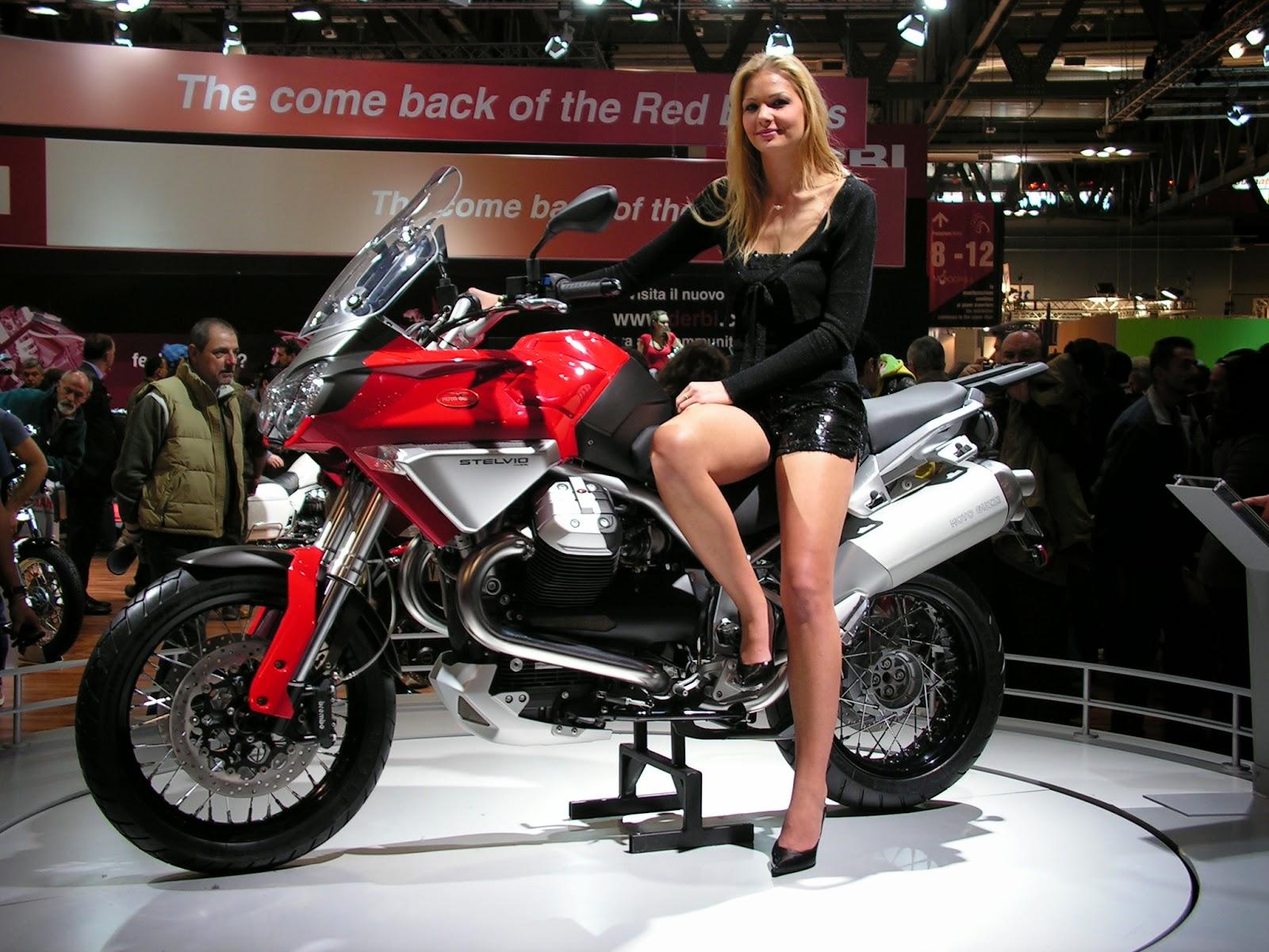 Moto Guzzi Stelvio NXT 1200 New Show Room Bikes