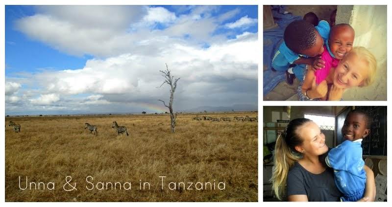 Unna & Sanna in Tanzania