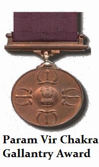 Param Vir Chakra gallantry award