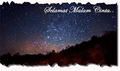 penuh bintang dan terlihat menyerupai menatap pribadi ke jiwa 18 Senandung Kata Ucapan selamat Malam Untuk Sang Kekasih