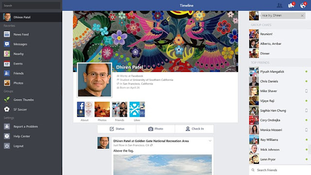 Official Facebook App For Windows 8.1 Updated