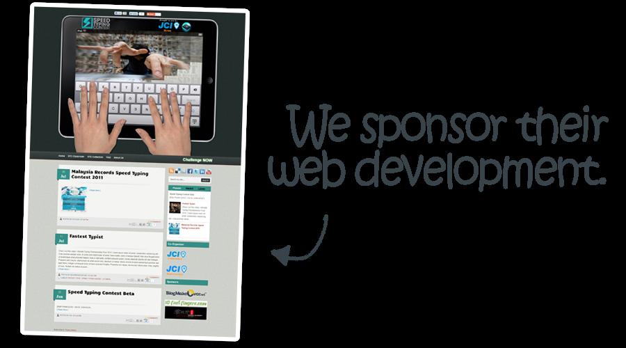Blog Makeover for speedtypingcontest.com