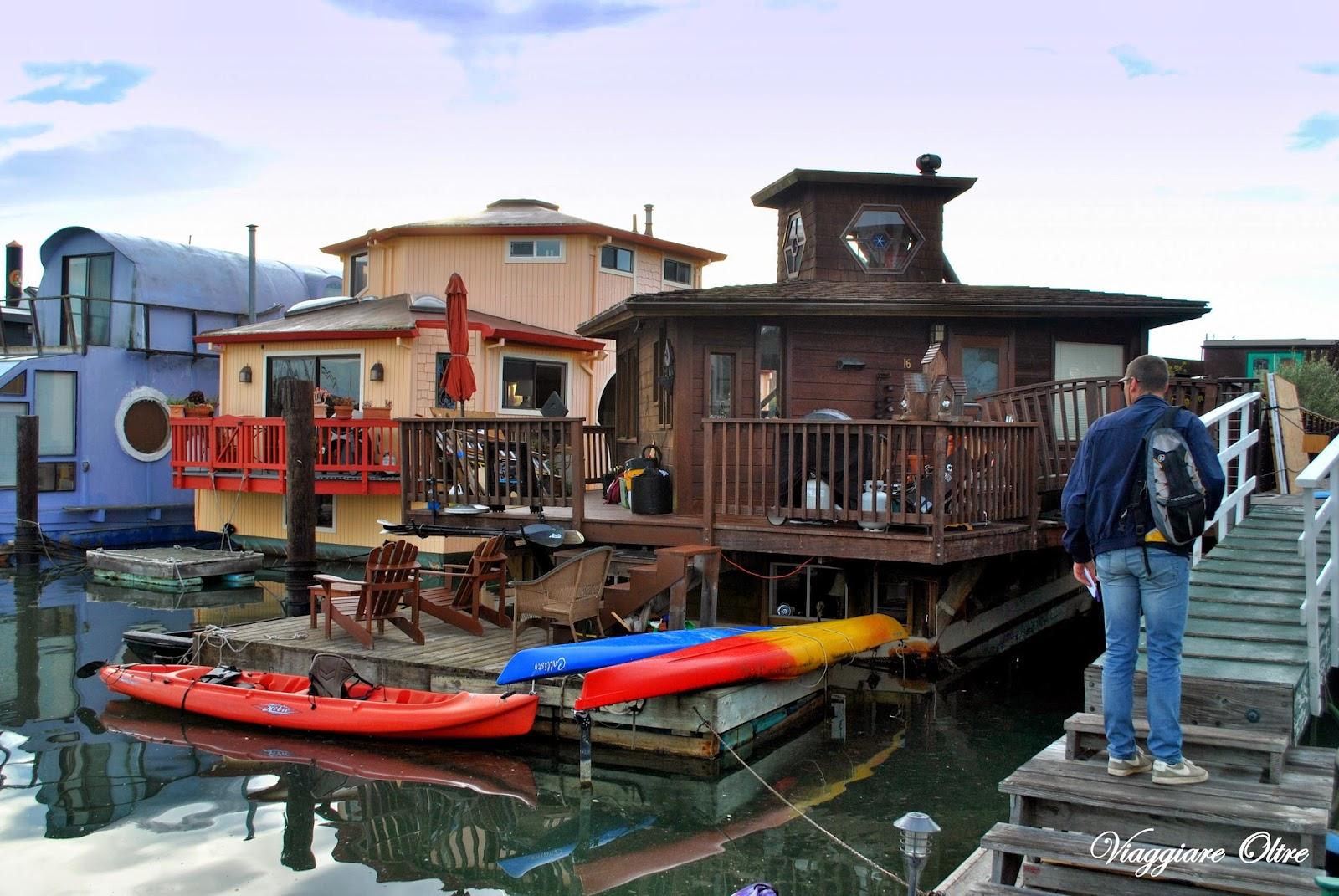 Sausalito case galleggianti