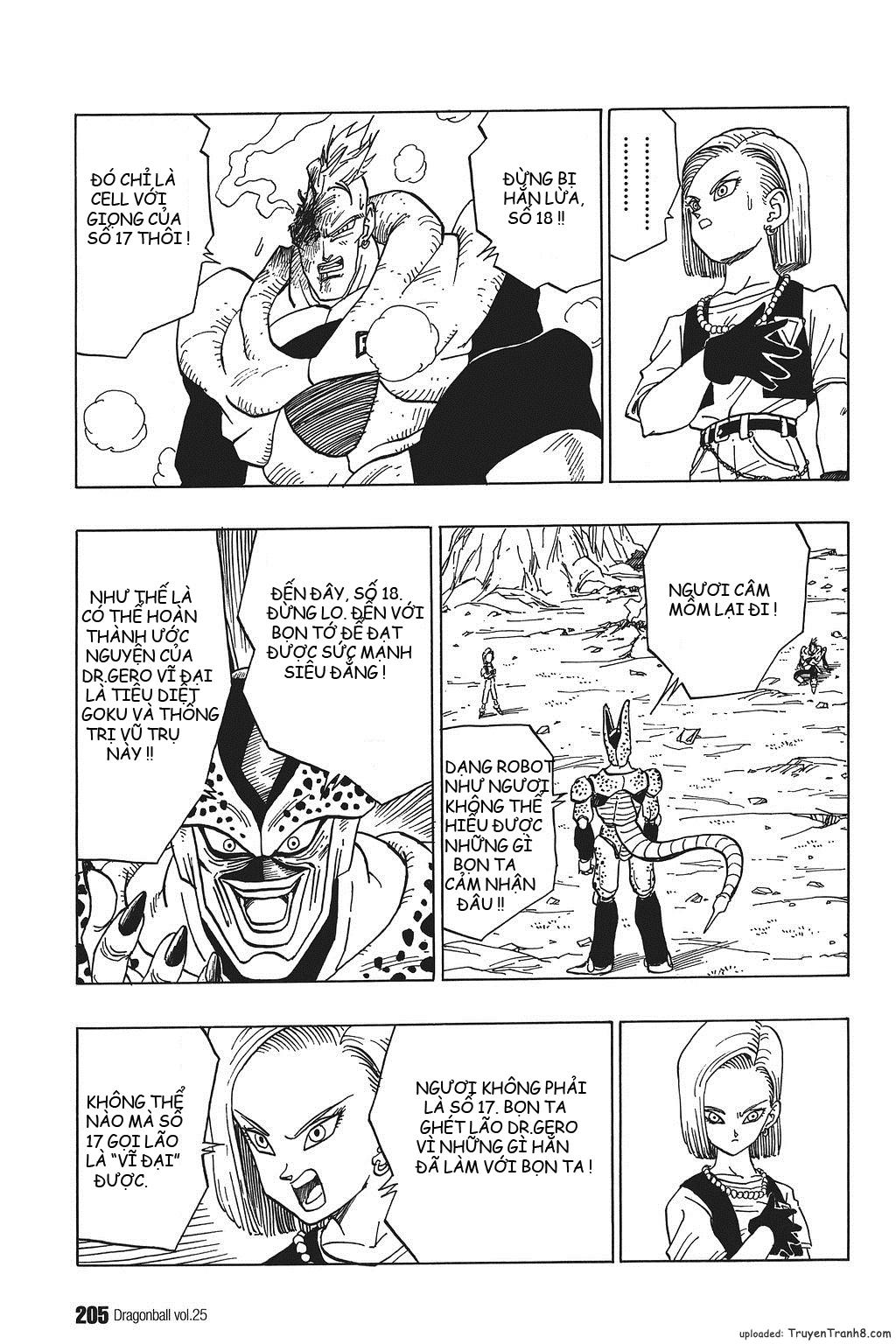 xem truyen moi - Dragon Ball Bản Vip - Bản Đẹp Nguyên Gốc Chap 373