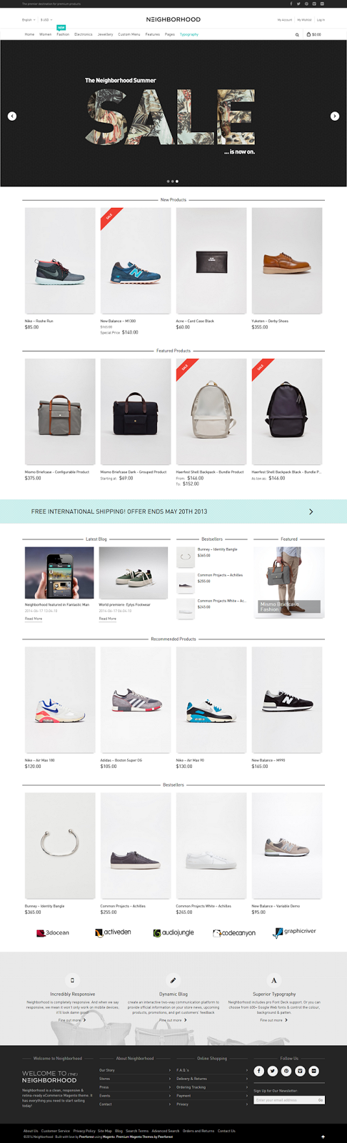 Responsive Multipurpose eCommerce Theme