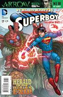 Superboy #17 Cover