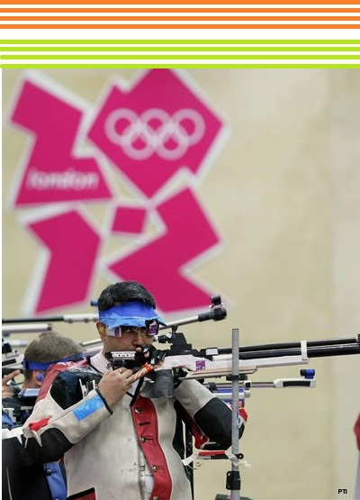 Gagan Narang London Olympics 2012 Bronze first medal India rifle shooting latest news shooting
