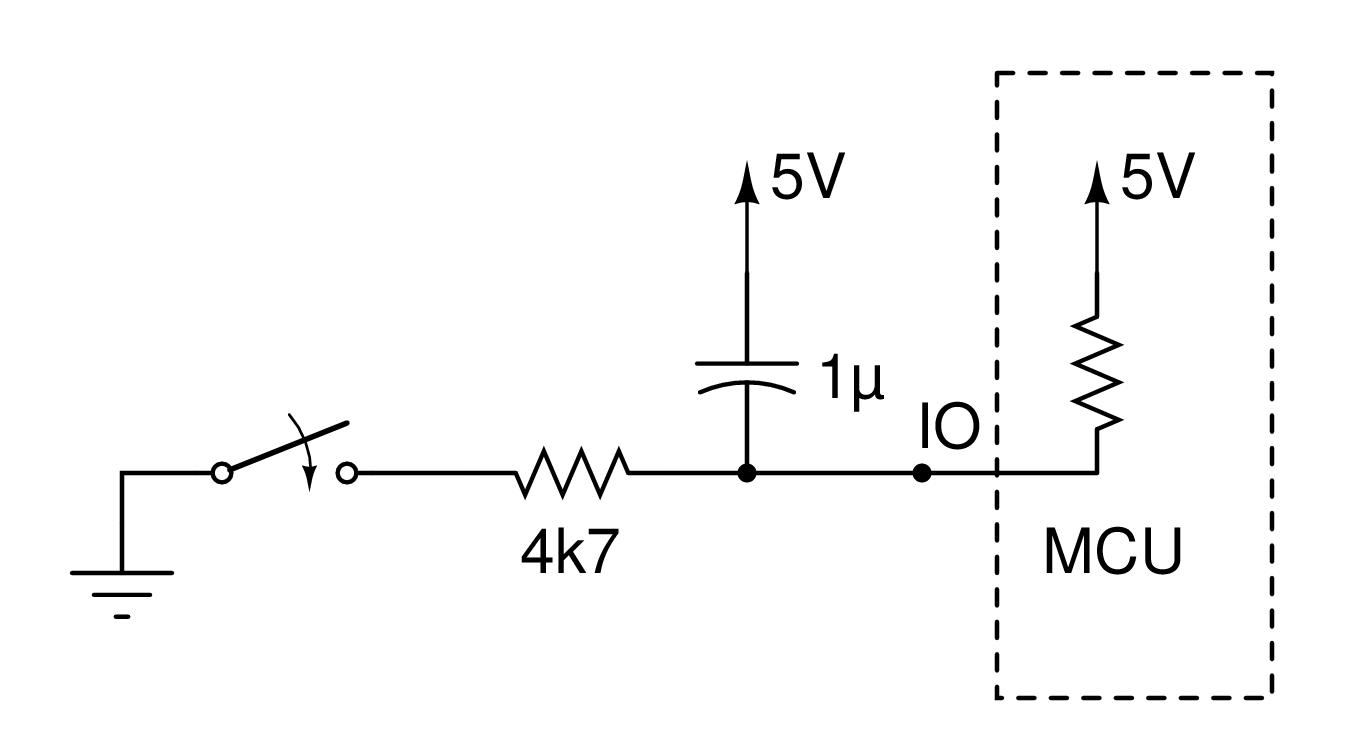 Electronics Evolution Button Debounce Analogue Vs Digital Switch Circuit Debouncer