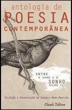 """Co-autora na Antologia de Poesia Contemporânea """"Entre o Sono e o Sonho"""" da Chiado Editora, FEV 2012"""