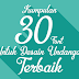 Kumpulan 30 Font Untuk Desain Undangan Terbaik